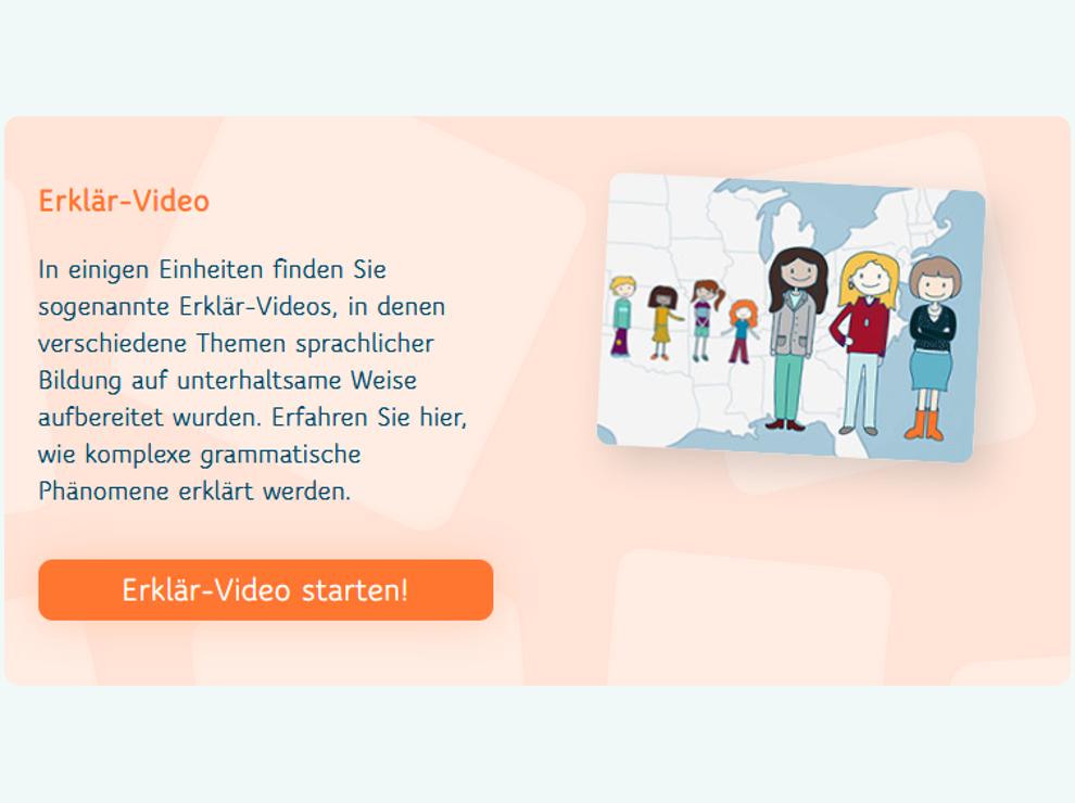 Blended-Learning Erklaervideo
